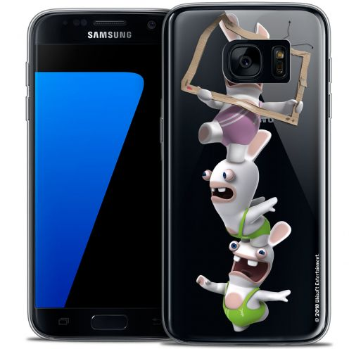 Crystal Galaxy S7 Case Lapins Crétins™ TV Sport