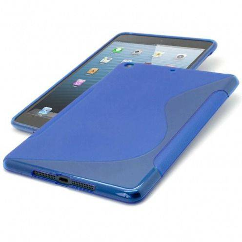 Tpu Basics S-Line iPad Mini case Blue
