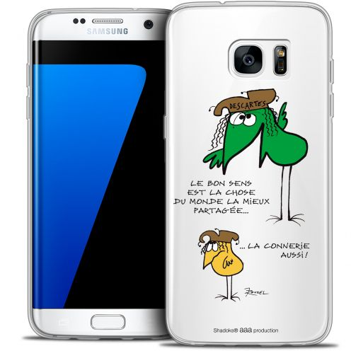 Extra Slim Crystal Galaxy S7 Edge Case Les Shadoks® Le Partage