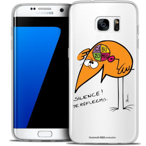 Extra Slim Crystal Galaxy S7 Edge Case Les Shadoks® Silence !