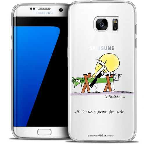Extra Slim Crystal Galaxy S7 Edge Case Les Shadoks® Je pense Donc