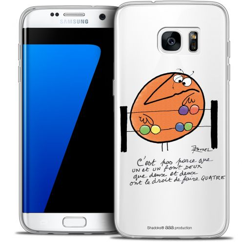 Extra Slim Crystal Galaxy S7 Edge Case Les Shadoks® Mathématique