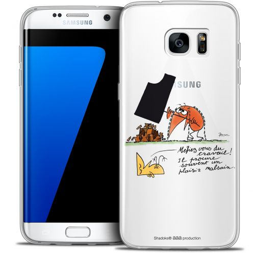Extra Slim Crystal Galaxy S7 Edge Case Les Shadoks® Le Travail