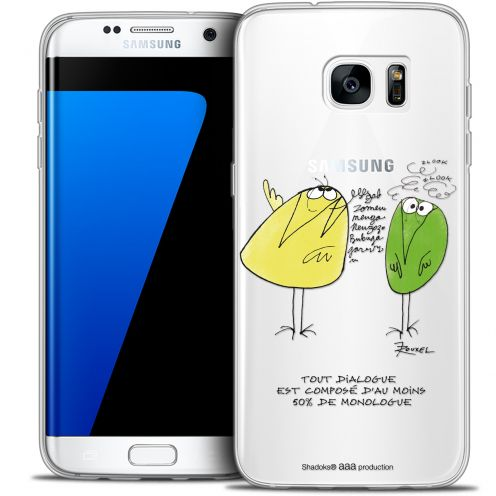 Extra Slim Crystal Galaxy S7 Edge Case Les Shadoks® Le Dialogue