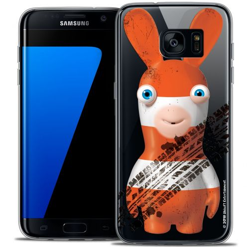 Crystal Galaxy S7 Edge Case Lapins Crétins™ On the Road