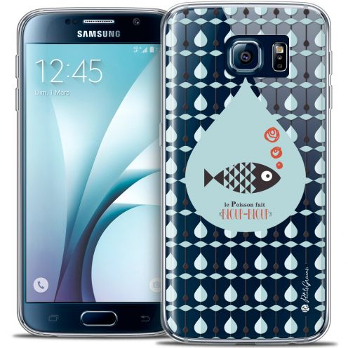Extra Slim Crystal Galaxy S6 Case Petits Grains® Le Poisson