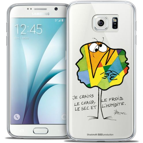 Extra Slim Crystal Galaxy S6 Case Les Shadoks® Chaud ou Froid