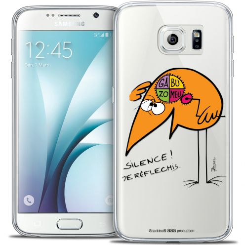 Extra Slim Crystal Galaxy S6 Case Les Shadoks® Silence !