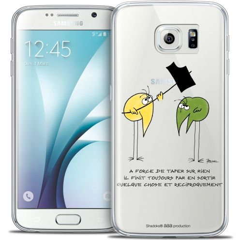 Extra Slim Crystal Galaxy S6 Case Les Shadoks® A Force