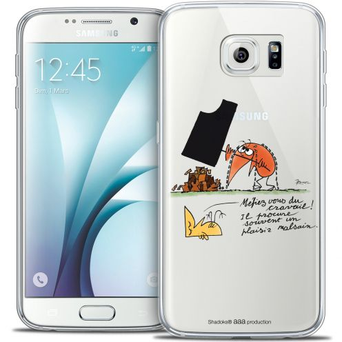 Extra Slim Crystal Galaxy S6 Case Les Shadoks® Le Travail
