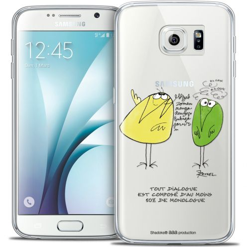 Extra Slim Crystal Galaxy S6 Case Les Shadoks® Le Dialogue