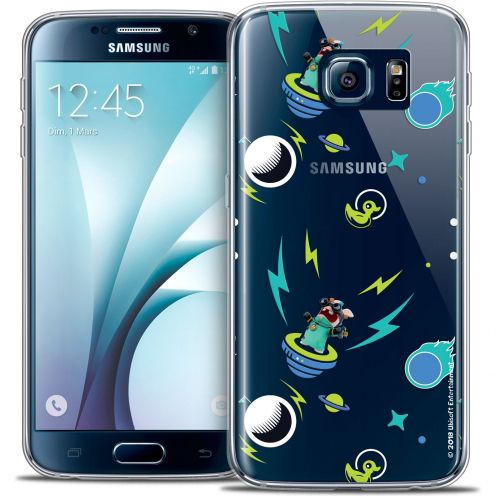 Crystal Galaxy S6 Case Lapins Crétins™ Space 1