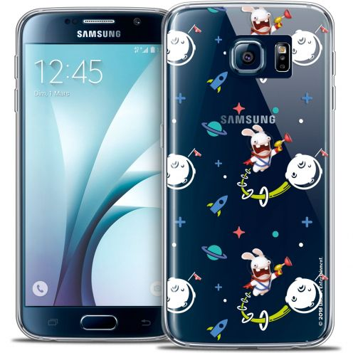 Crystal Galaxy S6 Case Lapins Crétins™ Space 2