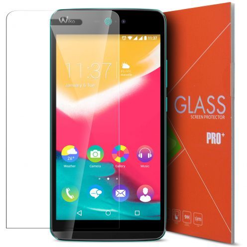 Glass Pro+ Ultra HD 9H 0.33mm Tempered Glass Screen Protector for Wiko Rainbow Jam