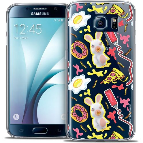Crystal Galaxy S6 Case Lapins Crétins™ Egg Pattern