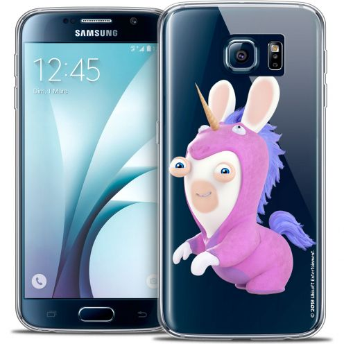 Crystal Galaxy S6 Case Lapins Crétins™ Licorne