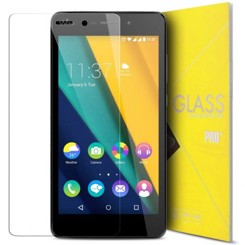 """Glass Pro+ Ultra HD 9H 0.33mm Tempered Glass Screen Protector for Wiko Pulp Fab 5.5"""""""