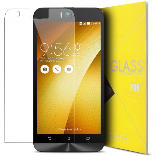 Glass Pro+ Ultra HD 9H 0.33mm Tempered Glass Screen Protector for Asus Zenfone Selfie ZD551KL