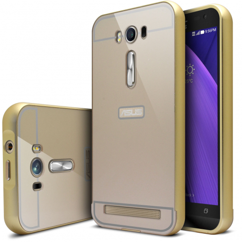 "Asus Zenfone 2 Laser 5.0"" ZE500KL Aluminium Bumper with back window Gold"