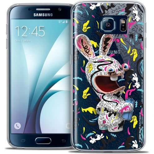 Crystal Galaxy S6 Case Lapins Crétins™ Tag