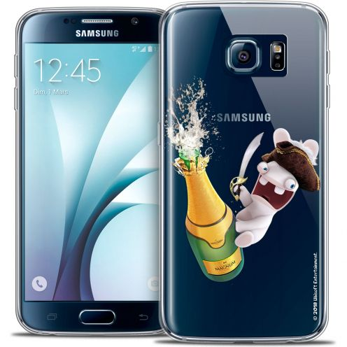 Crystal Galaxy S6 Case Lapins Crétins™ Champagne !