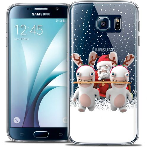 Crystal Galaxy S6 Case Lapins Crétins™ Lapin Traineau