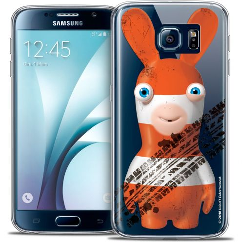 Crystal Galaxy S6 Case Lapins Crétins™ On the Road