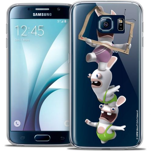 Crystal Galaxy S6 Case Lapins Crétins™ TV Sport