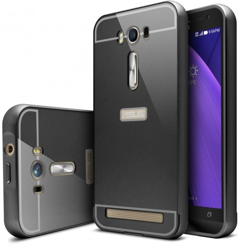"Asus Zenfone 2 Laser 5.0"" ZE500KL Aluminium Bumper with back window Black"