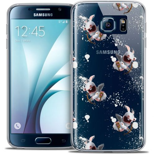 Crystal Galaxy S6 Case Lapins Crétins™ Cupidon Pattern