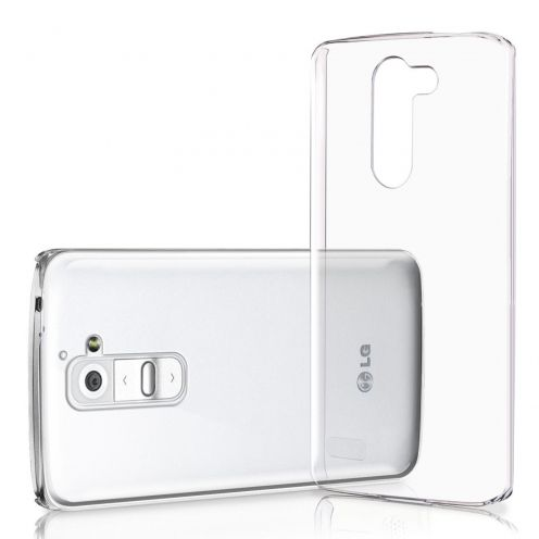 Slim Crystal Clear Hard Case for LG G2