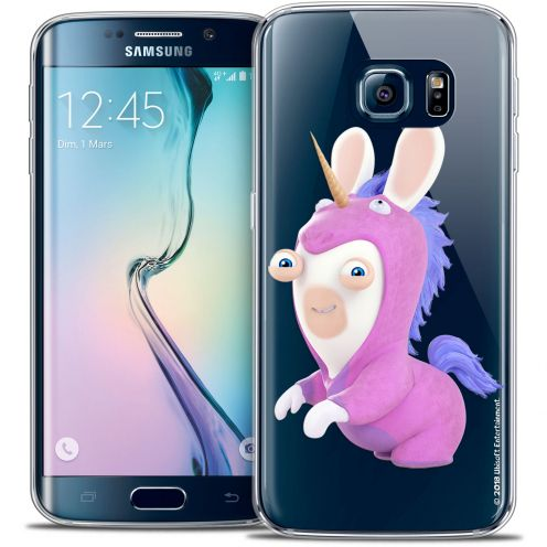 Crystal Galaxy S6 Edge Case Lapins Crétins™ Licorne