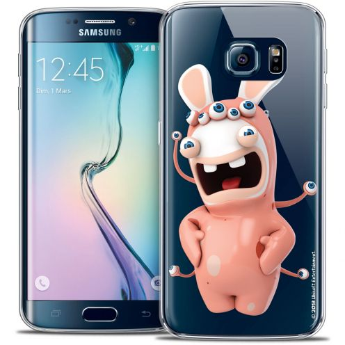 Crystal Galaxy S6 Edge Case Lapins Crétins™ Extraterrestre