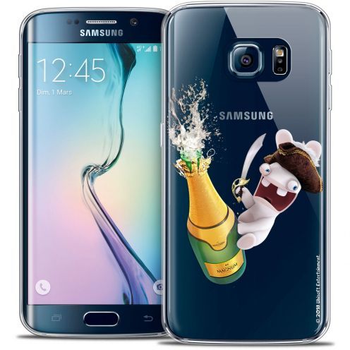 Crystal Galaxy S6 Edge Case Lapins Crétins™ Champagne !