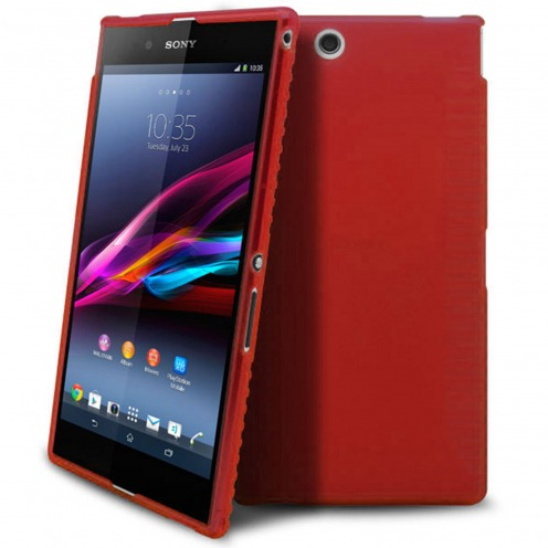 Frozen Ice Extra Slim Red soft case for Sony Xperia Z Ultra XL39H