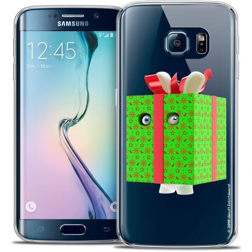 Crystal Galaxy S6 Edge Case Lapins Crétins™ Lapin Surprise Vert