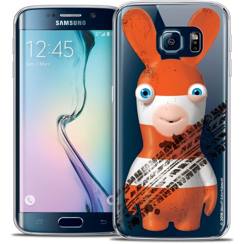 Crystal Galaxy S6 Edge Case Lapins Crétins™ On the Road