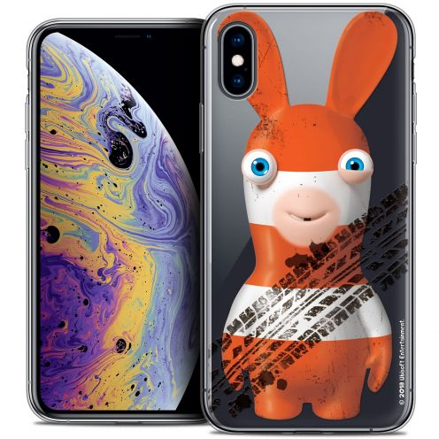 """Crystal Gel Apple iPhone Xs Max (6.5"""") Case Lapins Crétins™ On the Road"""