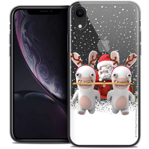 """Crystal Gel Apple iPhone Xr (6.1"""") Case Lapins Crétins™ Lapin Traineau"""