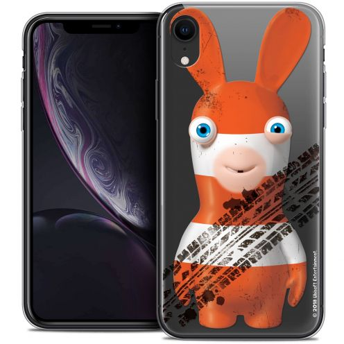 """Crystal Gel Apple iPhone Xr (6.1"""") Case Lapins Crétins™ On the Road"""
