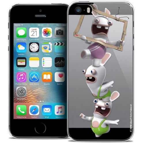 Crystal iPhone 5/5s/SE Case Lapins Crétins™ TV Sport