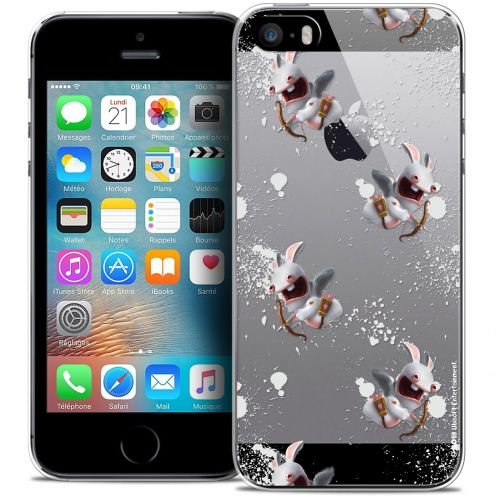 Crystal iPhone 5/5s/SE Case Lapins Crétins™ Cupidon Pattern