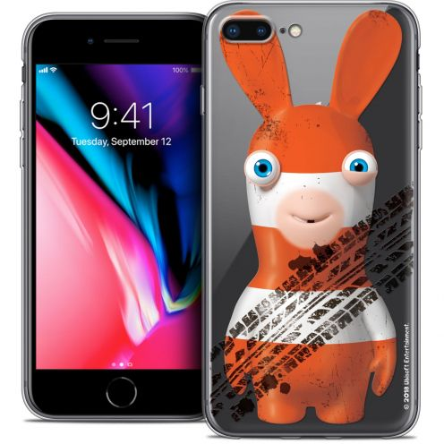 "Crystal Gel Apple iPhone 8 Plus (5.5"") Case Lapins Crétins™ On the Road"