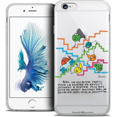 Extra Slim Crystal iPhone 6/6s Case Les Shadoks® L'escalier