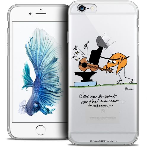 Extra Slim Crystal iPhone 6/6s Case Les Shadoks® Musicien
