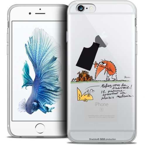 Extra Slim Crystal iPhone 6/6s Case Les Shadoks® Le Travail