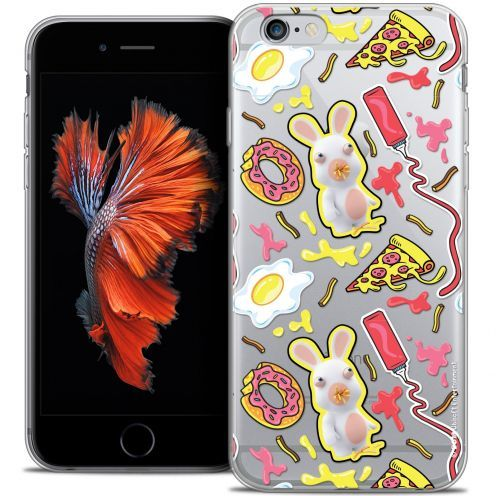 Crystal iPhone 6/6s Case Lapins Crétins™ Egg Pattern