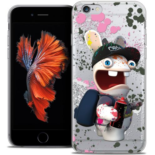 Crystal iPhone 6/6s Case Lapins Crétins™ Painter