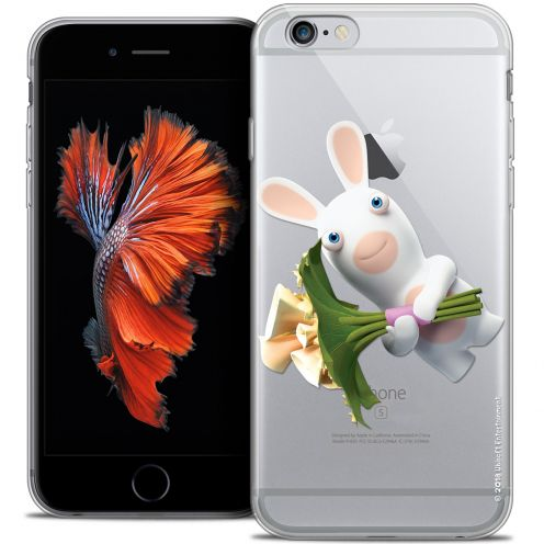 Crystal iPhone 6/6s Case Lapins Crétins™ Bouquet Crétin