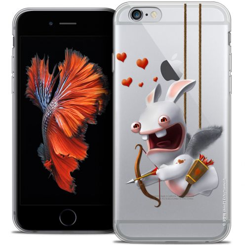 Crystal iPhone 6/6s Case Lapins Crétins™ Flying Cupidon